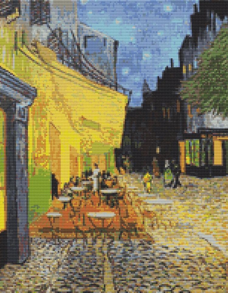 Cross Stitch Pattern PDF Cafe T - theartofstitch | ello