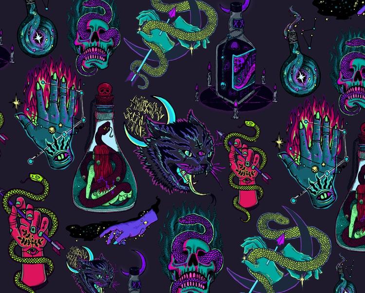 Neon Demons - Flashsheet inspir - polkip | ello