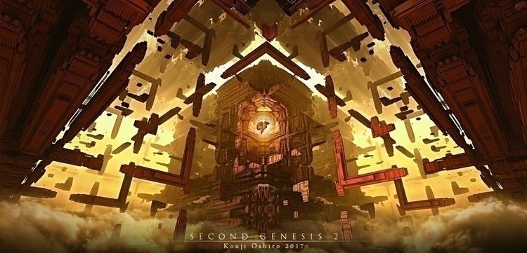 Genesis - genesis, fractal, scifi - koujioshiro | ello