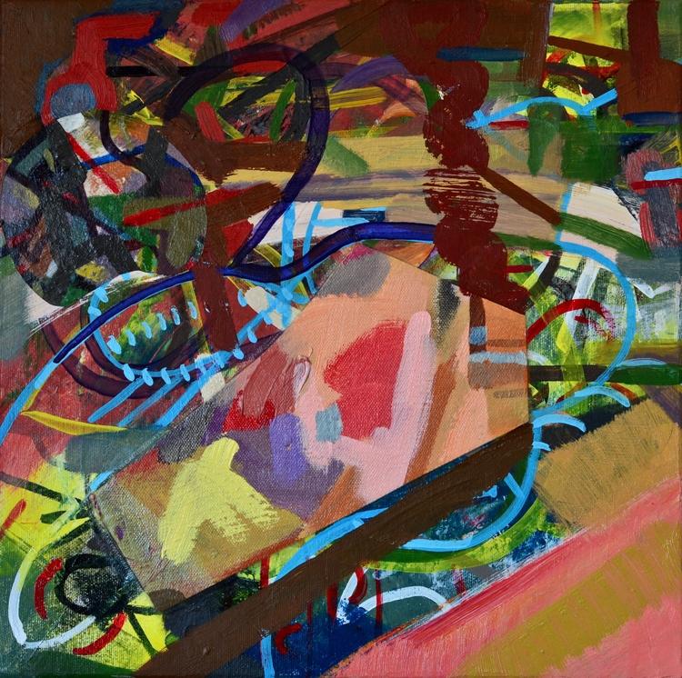 Swim Fish 2017, acrylic canvas - tonyvandenboomen | ello