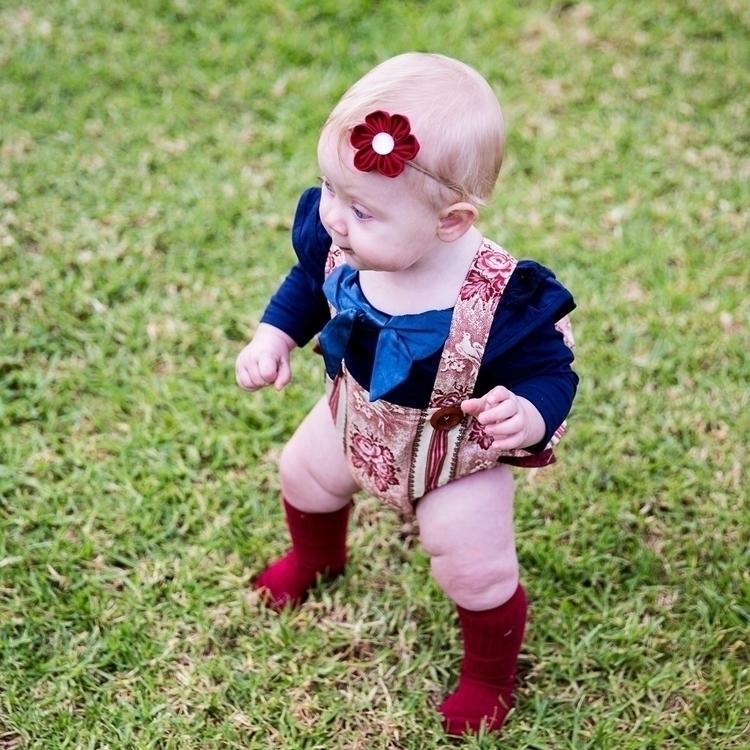 Ava stepping style ruby flower  - hekakids | ello