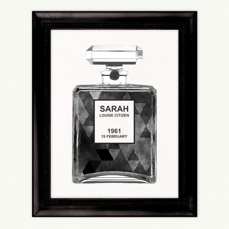 Personalised Perfume Bottle Pri - kaebee_designs | ello