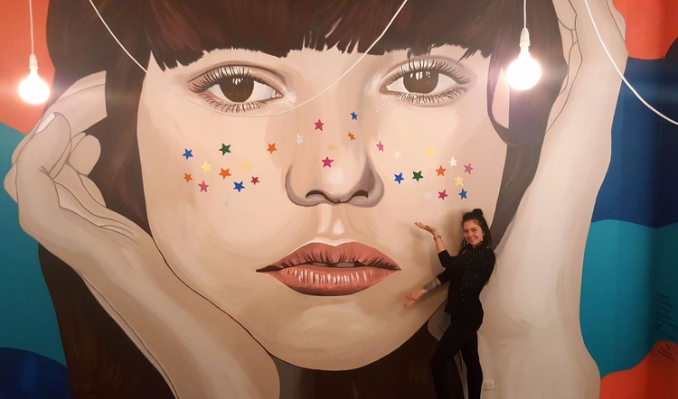 won mural comp, final shot - vanessavanderhaven | ello