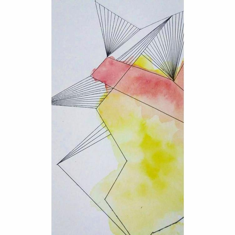 orange 2016/17 - yellow, art, geometric - tinasto   ello