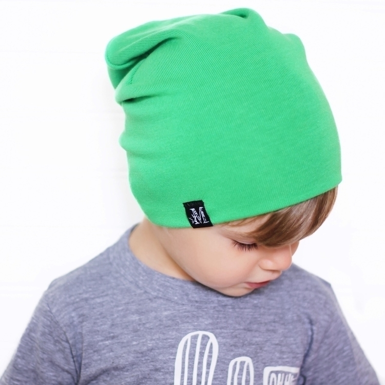 Cooper Shamrock Green Beanie ab - mightywarriordesigns | ello