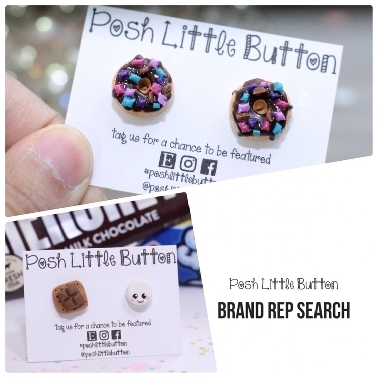 promote brand. clear, high reso - poshlittlebutton | ello