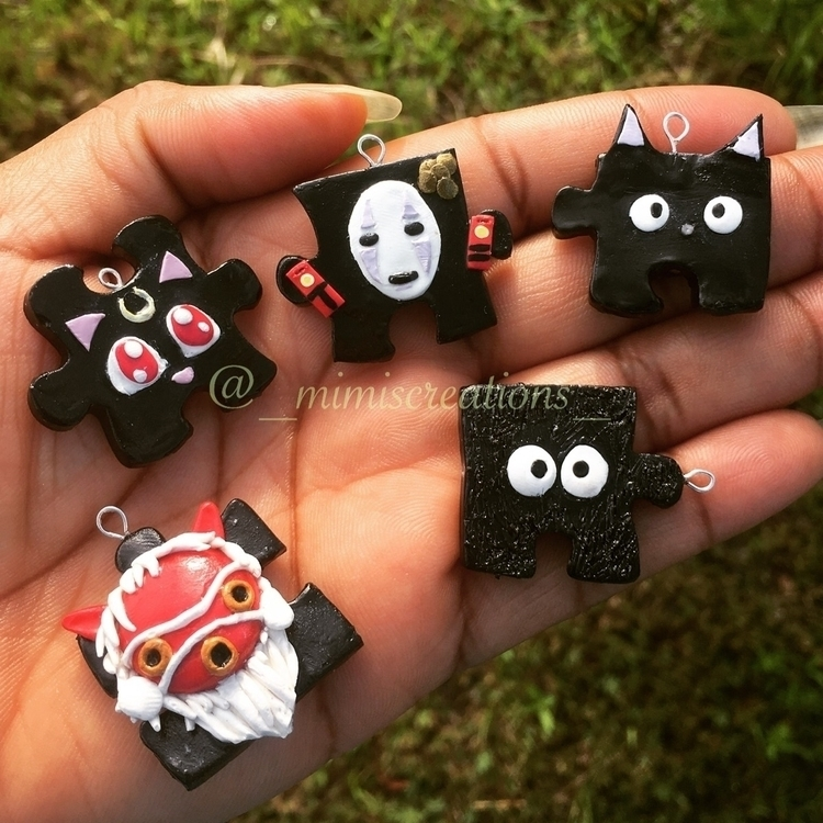 puzzle pieces working - polymerclay - mimiscreations | ello