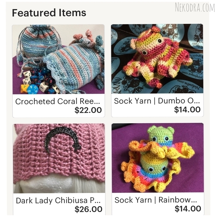 Shop update: Nekodra.etsy.com l - nekodra | ello