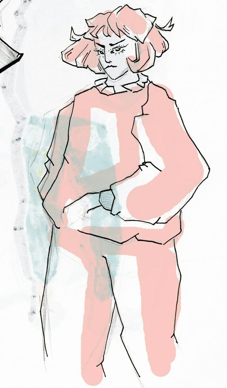 drawing, illustration, art, pink - doitforshrek | ello