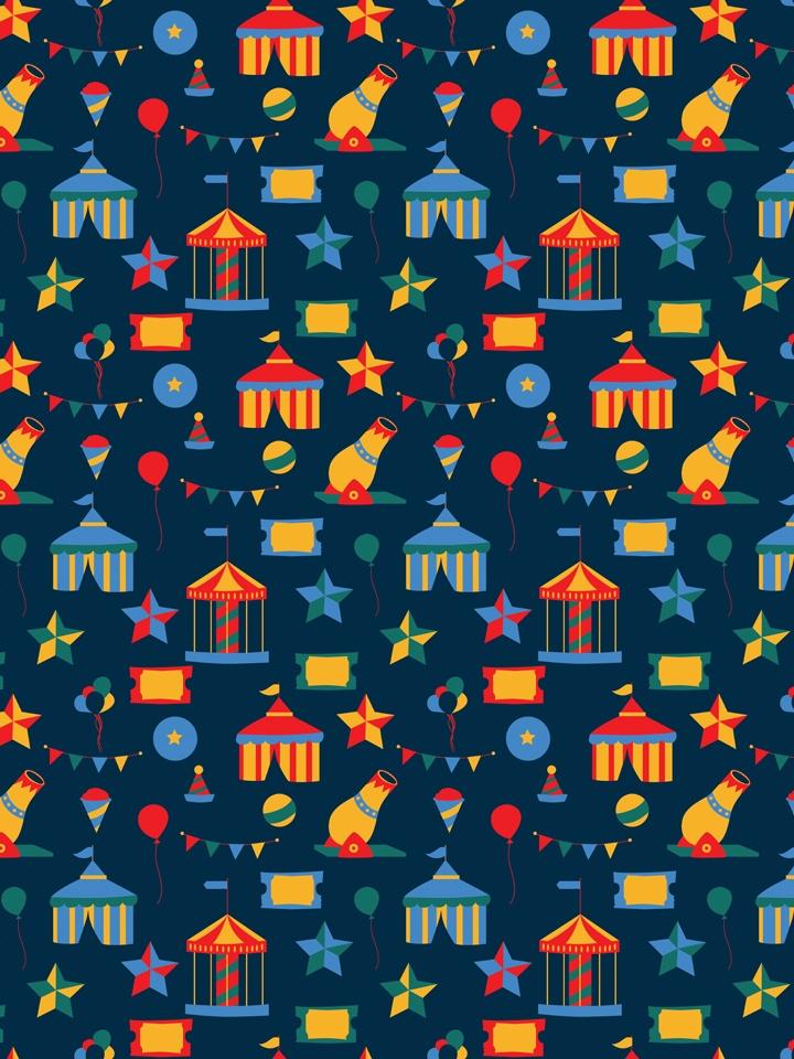 Fun circus. circus themed patte - svaeth | ello