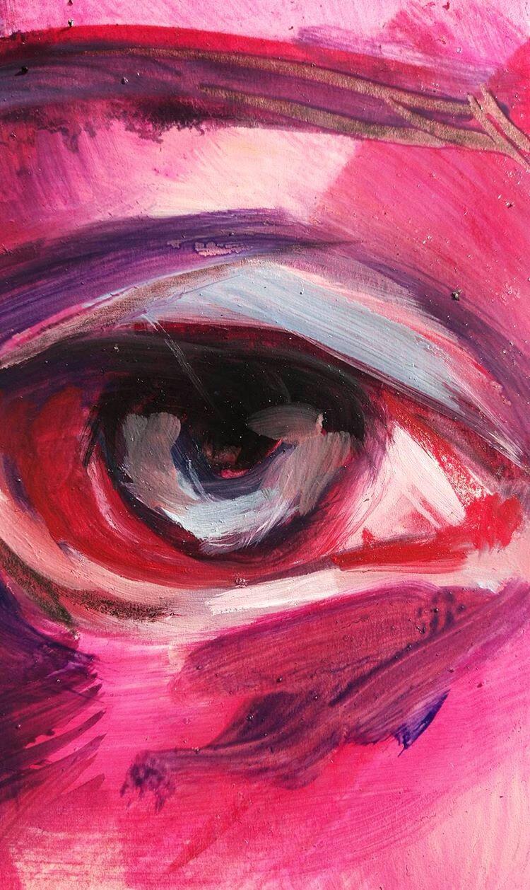 close oil painting progress - portrait - wwiktoria | ello