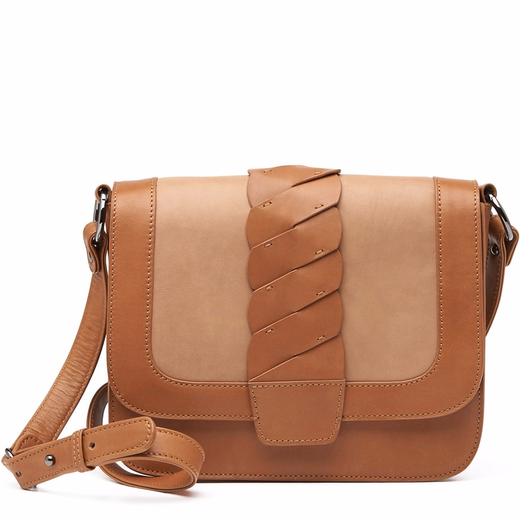 Drift Shoulder Bag - Tan/Camel - harlequinbelle | ello