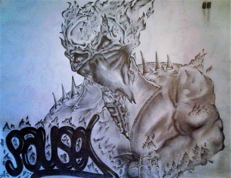 doodle - graffiti, pausecbs, drawing - pausecbs | ello