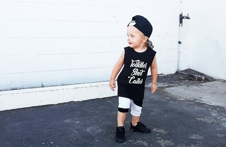 Toddler Shot Caller!!! Dropping - beeyahlittlesco | ello