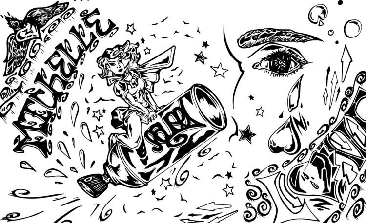 doodle - graffiti, pausecbs, drawing - pausecbs   ello