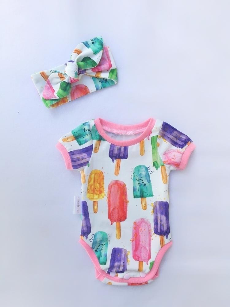 Baby girl bodysuit matching hea - designerlinersau | ello