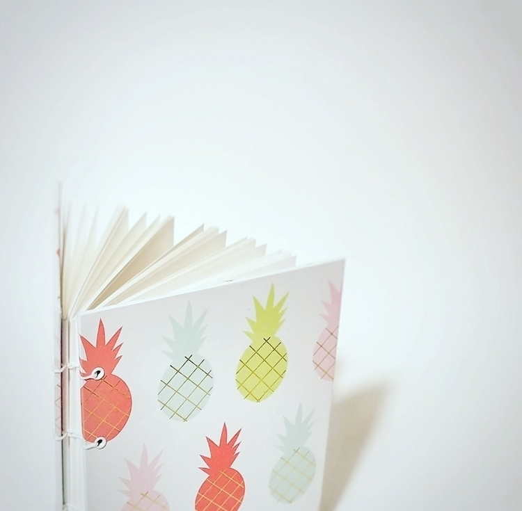 Pineapple journal - etsy, pineapple - colifichets | ello