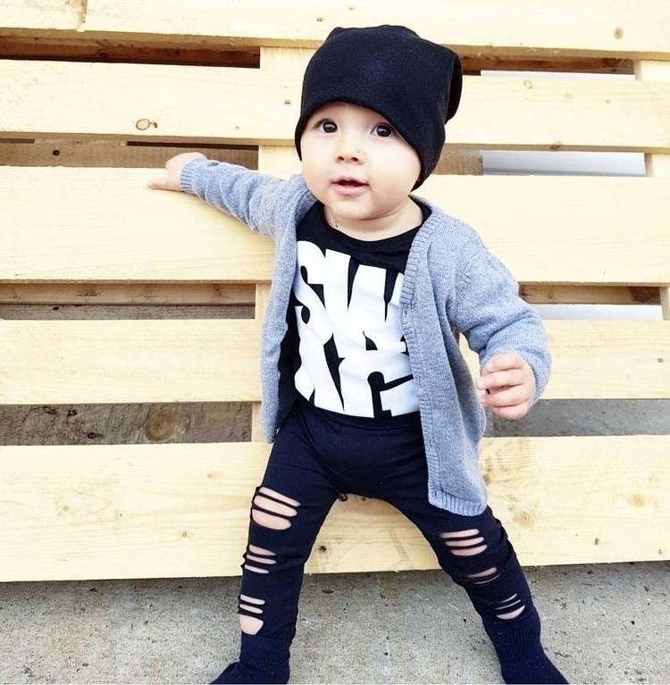 9 months killer style Levi rock - kmhcollective | ello