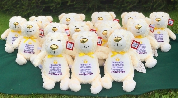 14 angel bears Nanna grandchild - babybearembroidery | ello