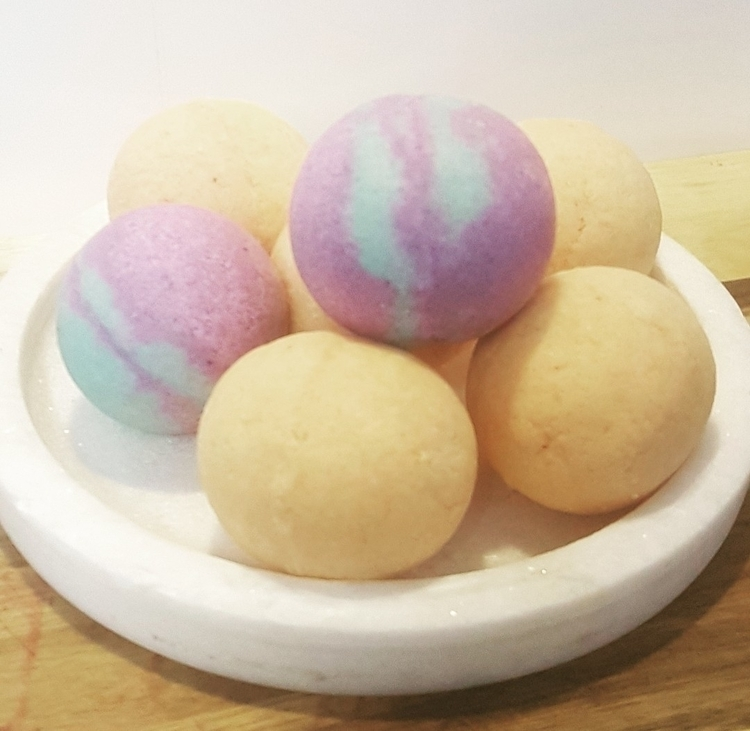× COMING - bathbombs - harlangraceau | ello