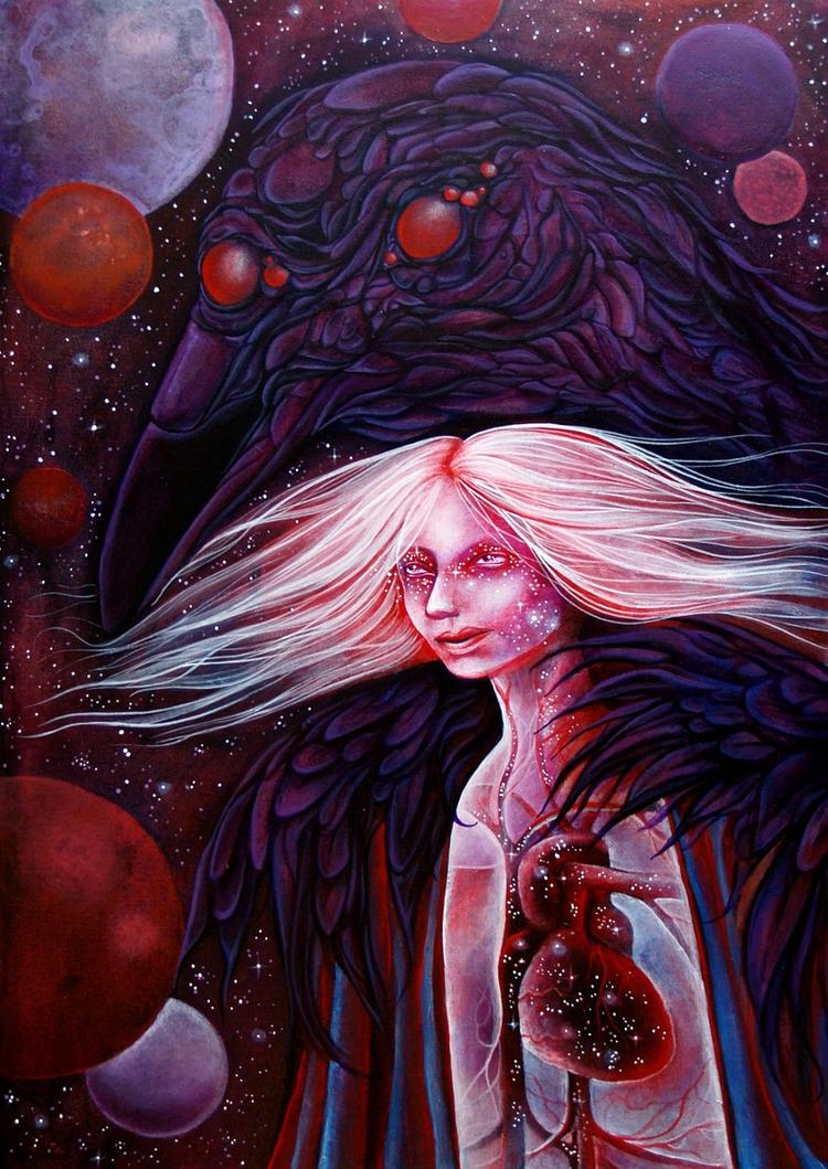 Star stuff Dark Matter 10''x14 - adeline_lamarre | ello