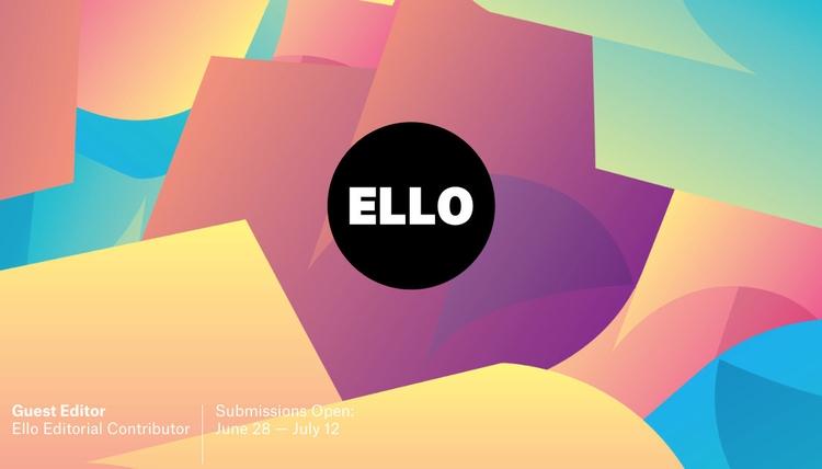 Guest Editor Ello promote favor - elloguesteditor | ello