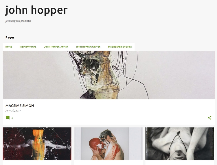 ***FEATURE ARTISTS*** Monday Jo - johnhopper | ello