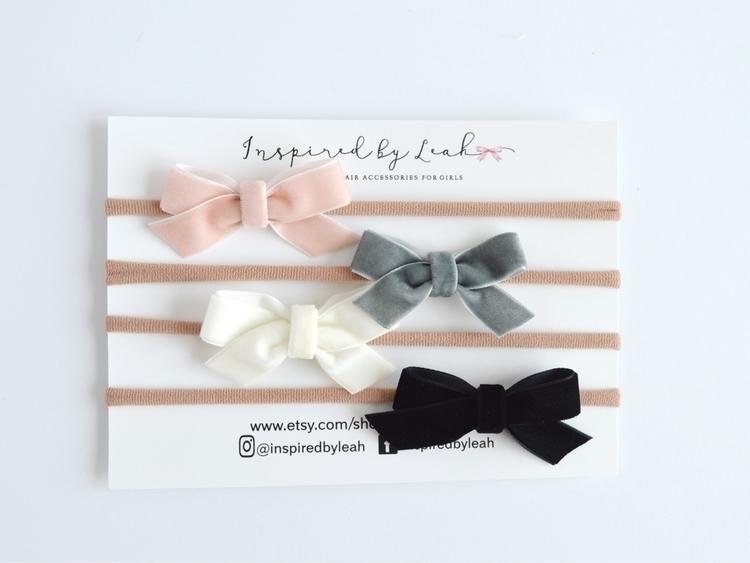 Pretty velvet bows perfect occa - inspiredbyleah | ello