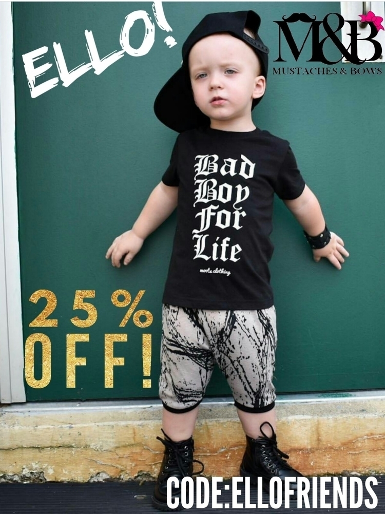 sale!!! 25% entire purchase!!!  - mustachesandbows | ello