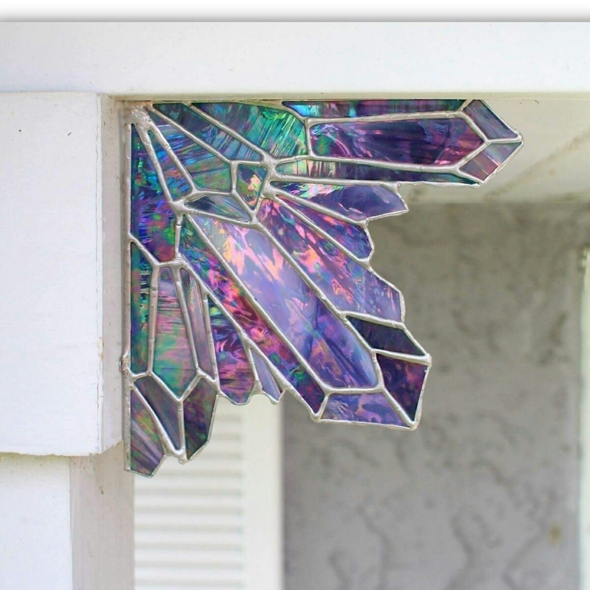 Aura amethyst stained glass cry - thesweetkarmabar | ello