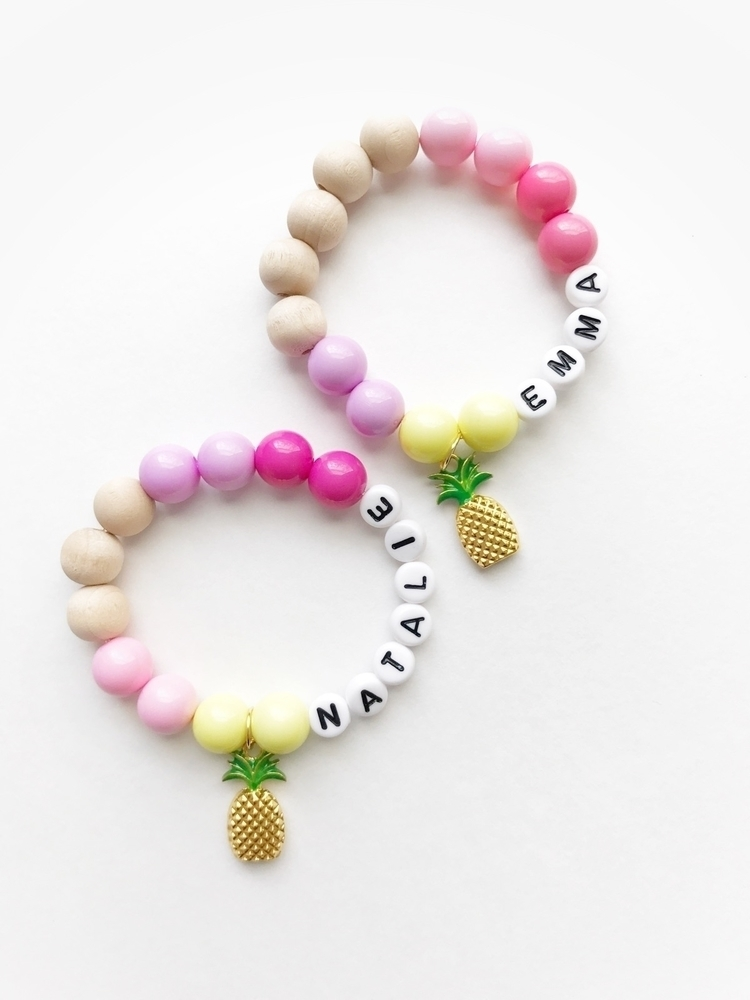 Pineapple bracelets! • Enjoy 30 - hellolovekalia | ello