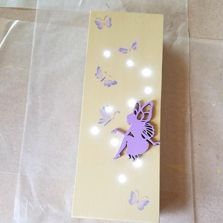 newest wall light. love - fairys - thisuniquehome   ello