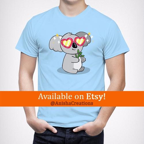 Fabulous Koala WARNING! design  - anishacreations | ello