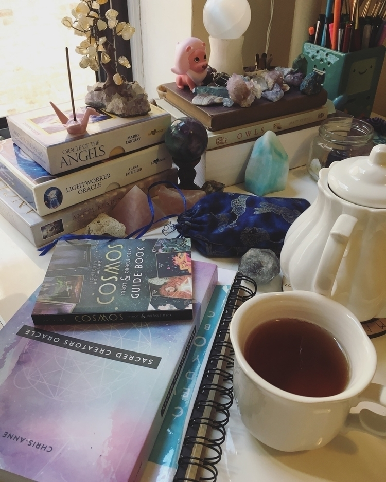 brew :coffee:️ decaf earl grey  - sashastrology | ello