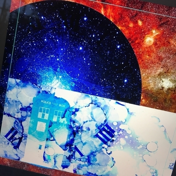 tardis, doctorwho, digitalart - daveybeauchamp | ello