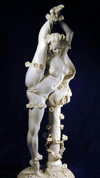 'Swan'. Standing Nude Contortio - oregonscholar | ello