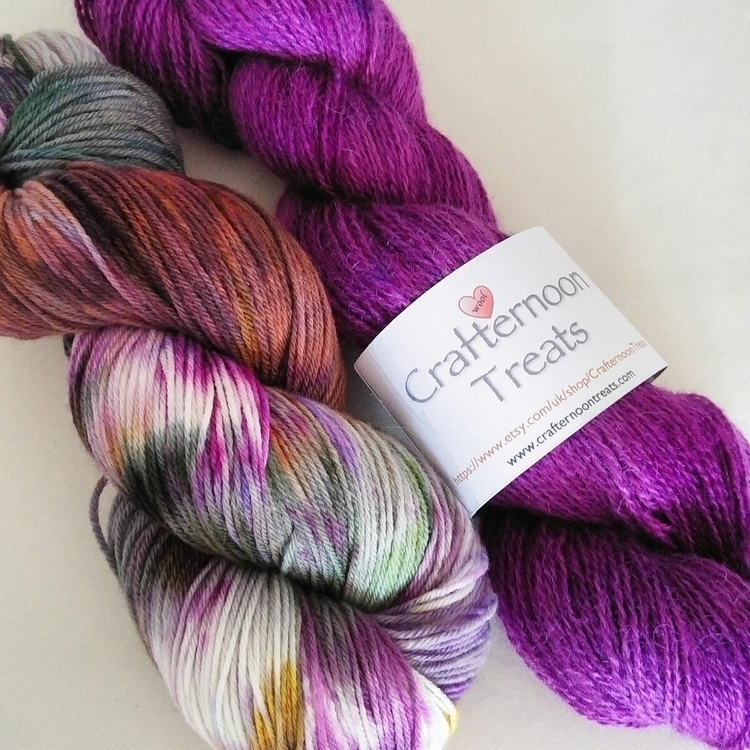 Perfect combo... Pure Falklands - crafternoontreats | ello
