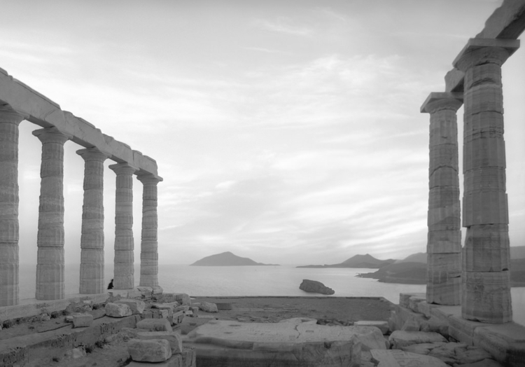 Temple Poseidon Cape Sounion, G - nickdewolfphotoarchive | ello