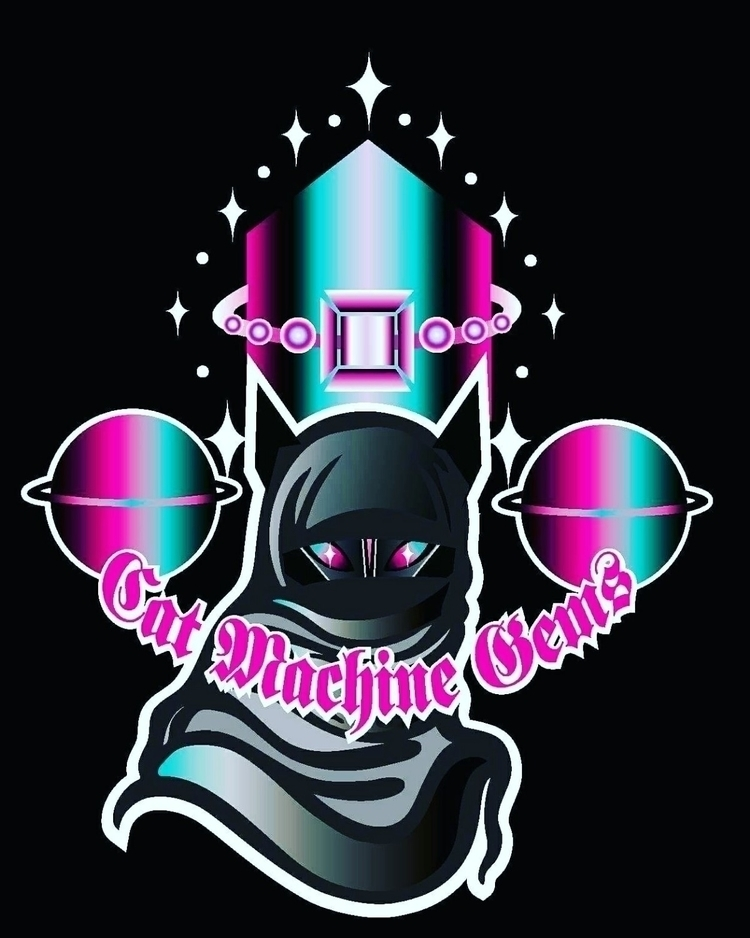 ♡Cat Machine artist, designer c - catmachinegems | ello