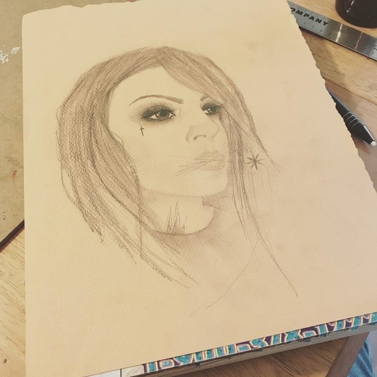 Sketching.....:heavy_multiplica - very_decent   ello