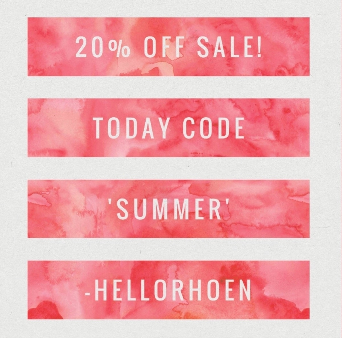 Hip hip horrrayy, sale day! cod - hellorhoen | ello
