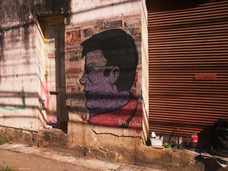 Graffiti em Niterói - rj - streetart - felipe-coutinho | ello