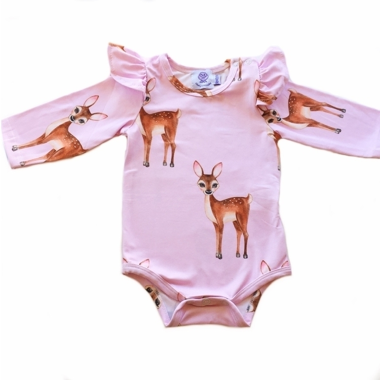 sweet pink deers Monday night 8 - cheekychickadeestore | ello