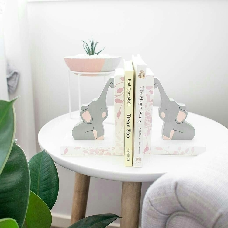 Elephant Bookends favourite des - woodlandends | ello