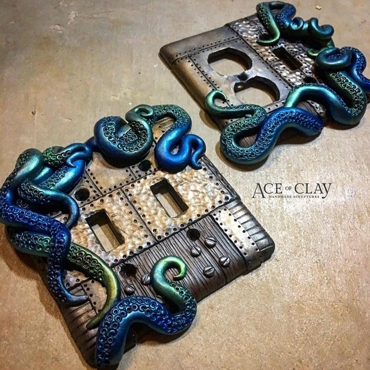 Custom wall plate set! Kraken s - aceofclay | ello