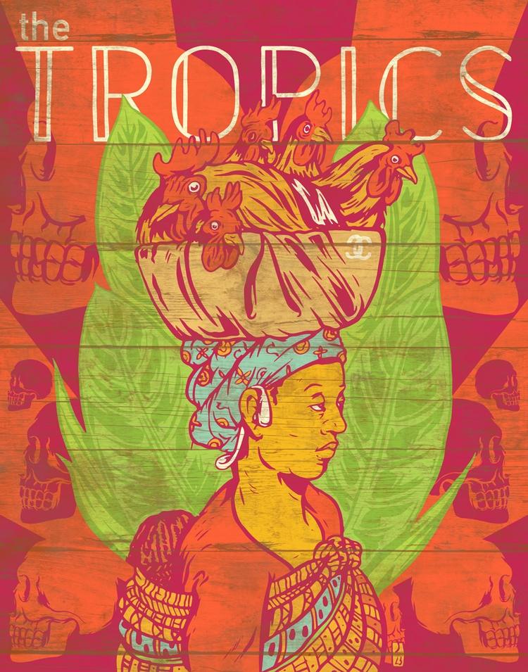 Tropics - illustration - thomcat23 | ello