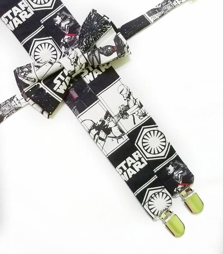 Star Wars suspenders bow tie - StarWars - sweetlookscollection | ello
