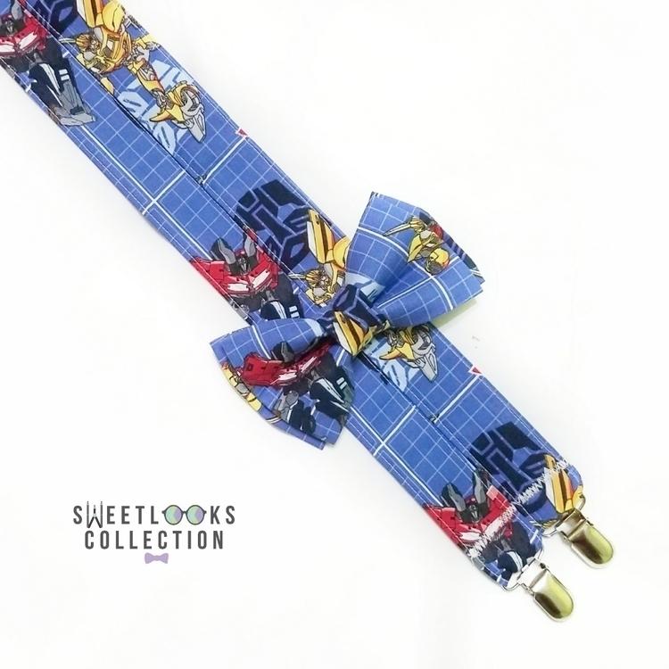 Transformers Suspenders Bow Tie - sweetlookscollection | ello
