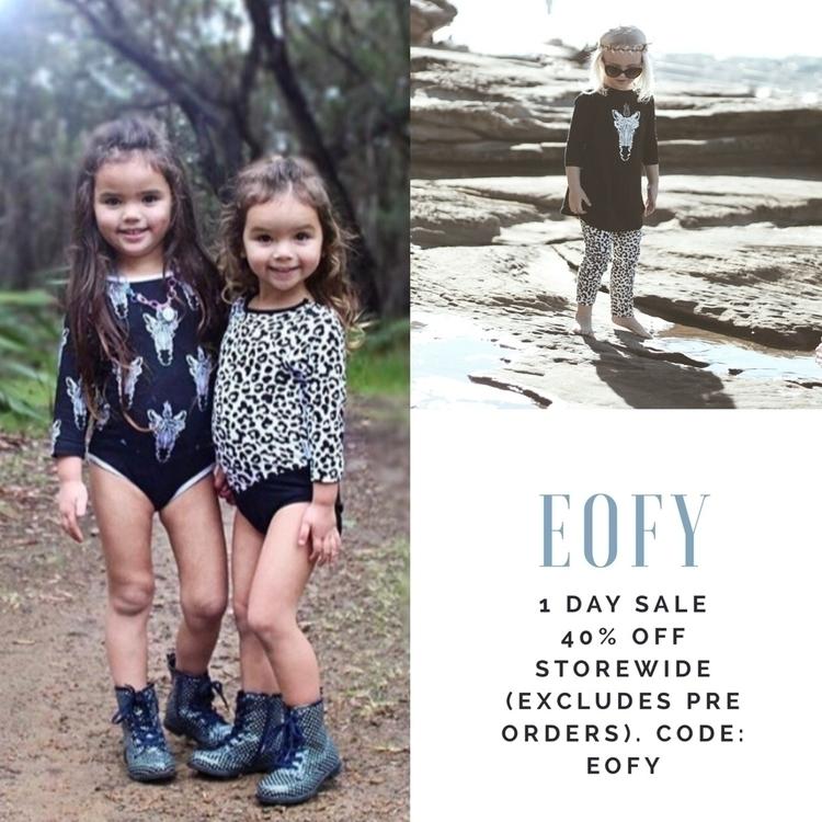EOFY 1 day sale... 40% STOREWID - tullyandthechief | ello