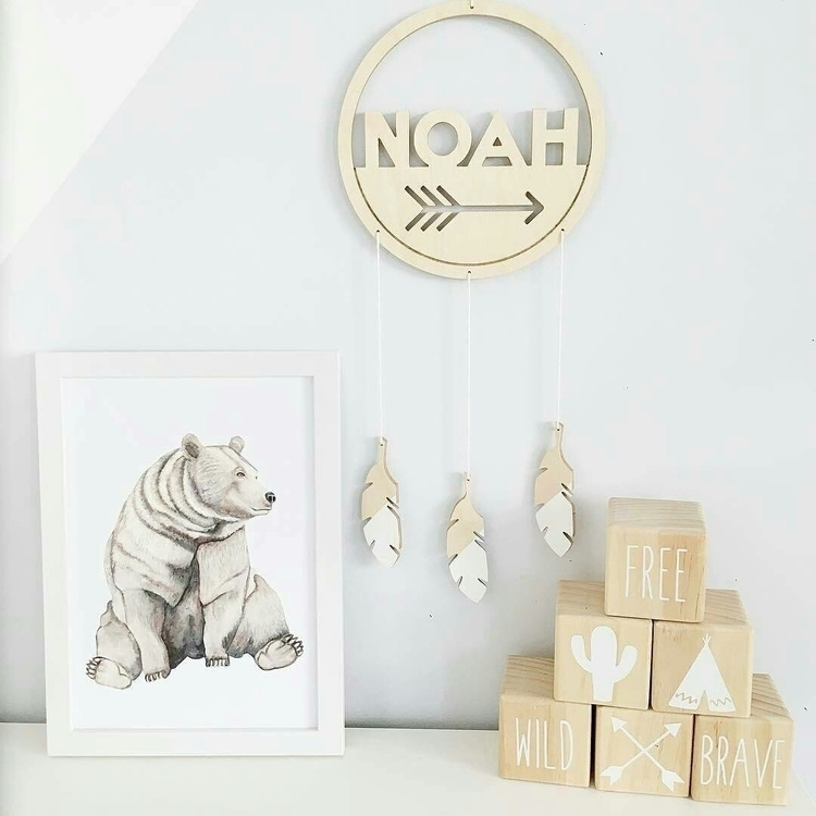 Gorgeous shelfie featuring Bear - thewhimsicalwall | ello